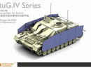 OrangeHobby 1/35 43 Armoured Skirt For StuG.IV PE
