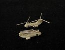 OrangeHobby 1/700 88 CH-46 Sea Knight helicopter 4 kits Resin