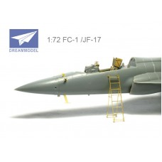 Dreammodel 1/72 0526 Chinese Pakistan Air Force PAF FC-1 /JF-17 Detail Update PE