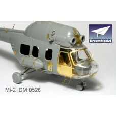 Dreammodel 1/72 0528 Soviet Helicopter Mi-2 Mil-2 Upgrade Detail PE for ZVEZDA