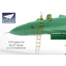 Dreammodel 1/72 0530 Russian Fighter Flanker SU-27 Ladder Metal PE