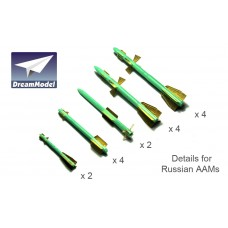 Dreammodel 1/72 0532 Russian Air-to-Air Missile AAM Detail Update PE
