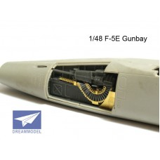 Dreammodel 1/48 1003 F-5E Tiger II Gunbay Gun Bay Detail Update Resin PE
