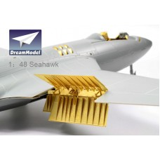 Dreammodel 1/48 2012 Royal Navy Hawker Sea Hawk FGA.6 MK100/101 Detail Update PE