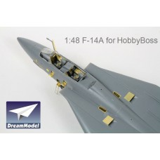 Dreammodel 1/48 2014 US Navy Fighter Tomcat F-14A Detail Update for Hobbyboss kit