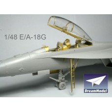 Dreammodel 1/48 2018 E/A-18G 18 Growler Detail Upgrade PE for Hasegawa kit