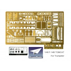 Dreammodel 1/48 2021 US Navy Fighter Tomcat F-14B Detail Update for Hobbyboss kit