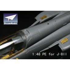 Dreammodel 1/48 2022 PLA Air Force J-8 II 8II Detail Update PE for Trumpeter kit