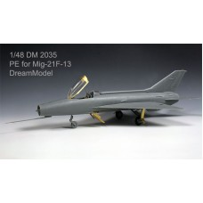Dreammodel 1/48 2035 MiG-21F-13 MiG-21 Update Detail PE for Trumpeter kit
