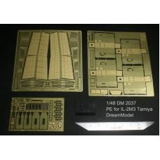Dreammodel 1/48 2037 IL-2M3 IL-2 Update Detail PE for TAMIYA kit