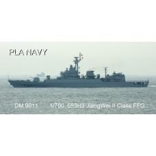 Dreammodel 1/700 9011 Chinese PLA Navy Type 053H3 Jiangwei II frigate Resin