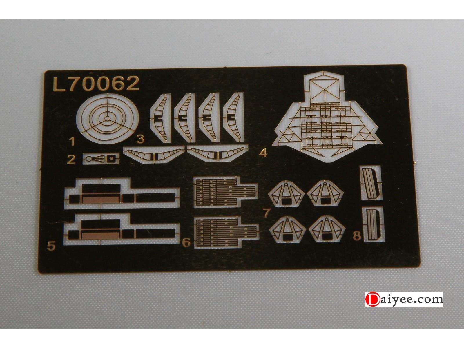 Ship Vessels Detail Update PE 1//350 205 US Navy WWII Fighter TBF SB2C F6F F4U