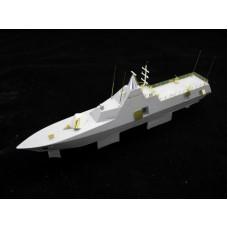 OrangeHobby 1/350 053 HSwMS Visby class corvette K33 Härnösand Resin kit