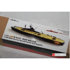 OrangeHobby 1/700 010 WWII German Aircraft Carrier Graf Zeppelin Resin kit