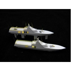 OrangeHobby 1/700 051 HSwMS Visby class corvette Visbyklass korvett 2 kits Resin