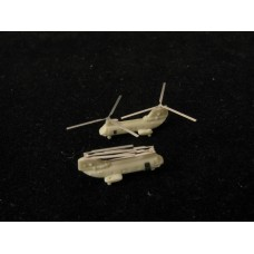 OrangeHobby 1/700 088 CH-46 Sea Knight helicopter 4 kits Resin