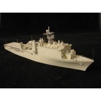 OrangeHobby 1/700 090 USS Whidbey Island LSD-41 dock landing ship Resin kit