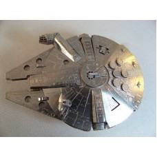 Star Wars Starwars Millennium Falcon spacecraft all metal kit 1/300