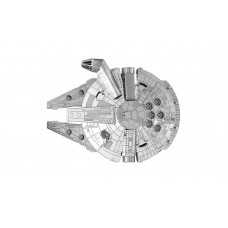 Star Wars Starwars Millennium Falcon spacecraft no glue required all metal kit