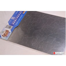 USTAR U-STAR TOOLS 80203 Metal Masking Sheet Cutting Template NATO Camouflage