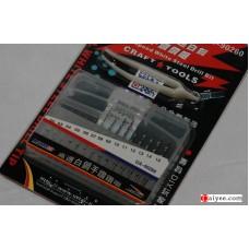 USTAR U-STAR TOOLS 90260 0.2-1.5mm Steel Drill Bit Set