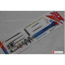 USTAR U-STARTOOLS 91302 0.1-3.2mm Fine Pin Vise Semi Auto hand Drill Set