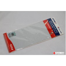 USTAR U-STAR TOOLS 91609 Stick Sanding Polish Sheet Paper 600#