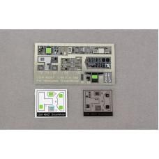 Dreammodel 1/48 48007 Color PE F/A-18E 18 Cockpit Detail Update for Hasegawa