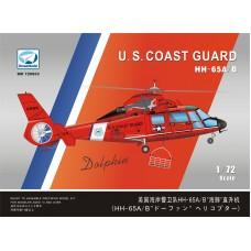 Dreammodel 1/72 72003 HH-65 Dolphin USCG Helicopter resin PE