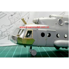 Dreammodel 1/72 0501 MI-17 Mil-17 Russian Helicopter detail Update PE for ZVEZDA