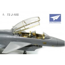 Dreammodel 1/72 0515 PLA Air Force Chinese New Fighter J-10S Detail Update PE