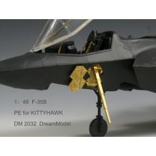 Dreammodel 1/48 2032 F-35B F-35 Update Detail PE for Kittyhawk kit