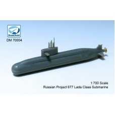 Dreammodel 1/700 70004 Russian Navy's Project 677 Lada-class submarine 2 ships