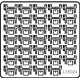 Ship Vessels Detail Update photo etched PE 1/350 024 Oerlikon 20 mm cannon AA Gun