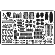 Ship Vessels Detail Update photo etched PE 1/700 075 for Japanese IJN Cruiser Myoko-class