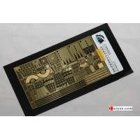 Ship Vessels Detail Update photo etched PE 1/700 303 USS Nimitz CVN-68 carrier Trumpeter kit