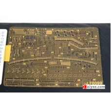 Ship Vessels Detail Update photo etched PE 1/700 099 Japanese aircraft carrier Kaga for Fujimi kit