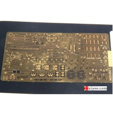 Ship Vessels Detail Update photo etched PE 1/700 123 HMS Hood