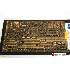 Ship Vessels Detail Update photo etched PE 1/700 243 Essex aircraft carrier