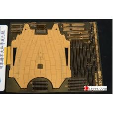 Ship Vessels Detail Update photo etched PE 1/700 370  Japanese battleship Yamato for Tamiya kit