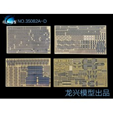 Ship Vessels Detail Update photo etched PE 1/350 082 USSR Navy Missile Cruiser Kirov