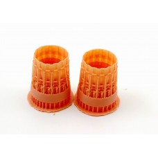 OrangeHobby 1/48 011 F100-PW-229 nozzles F-15C In Diverge 3D print for G.W.H Orange Hobby
