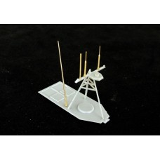 OrangeHobby 1/350 AS330 Whip Antenna for modern destroyer