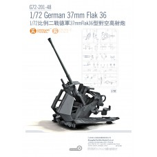 OrangeHobby 1/72 201 German 37mm Anti-aircraft Gun Flak 36