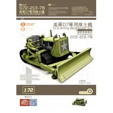 OrangeHobby 1/72 213 U.S.Army Bulldozer Caterpillar D7 Orange Hobby