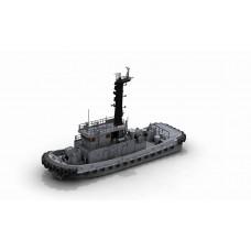 OrangeHobby 1/350 144 TAIWAN Tug Boat YTL-45 Resin kit