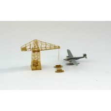 OrangeHobby 1/700 154 Italy Navy seaplane hydroplane Z506 and crane Orange Hobby