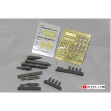 OrangeHobby 1/72 004 Joint Direct Attack Munition JDAM GBU-31 guidance kit Resin PE