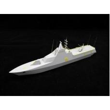 OrangeHobby 1/350 052 HSwMS Visby class corvette K31 Visbyklass korvett Resin kit Orange Hobby