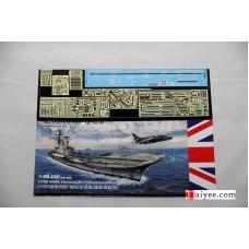 OrangeHobby 1/700 006 HMS Hermes R12 British Aircraft Carrier Falklands War Resin kit Orange Hobby